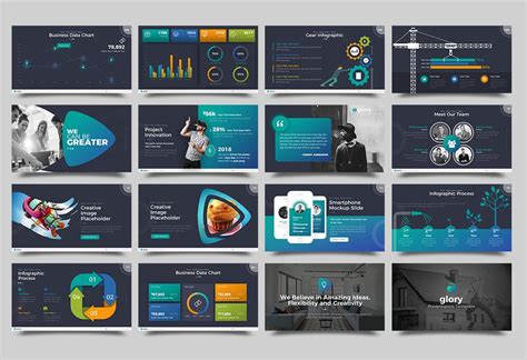 top 50 best powerpoint templates november 2017 design