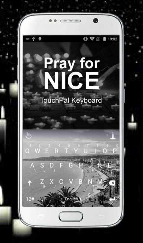 theme line v 5 pray for nice keyboard theme スマホ ライブ壁紙ギャラリー