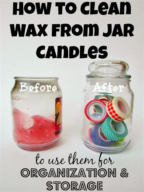 how to clean a candle jar continue diy ideas