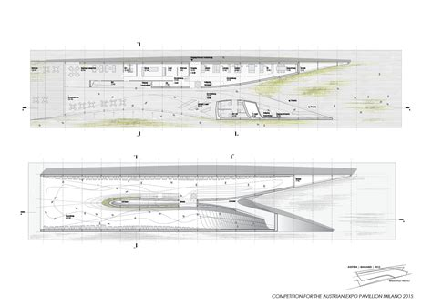 Floor Plans Blueprints Gallery Of Competition Entry Austrian Pavilion Milan