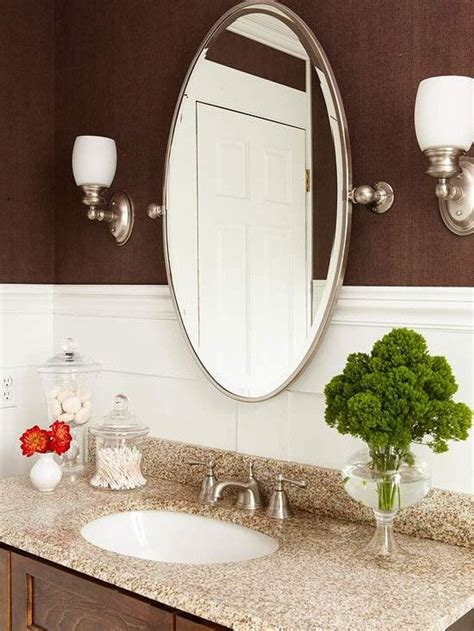 how to frame an oval bathroom mirror best 25 oval bathroom mirror ideas on pinterest half