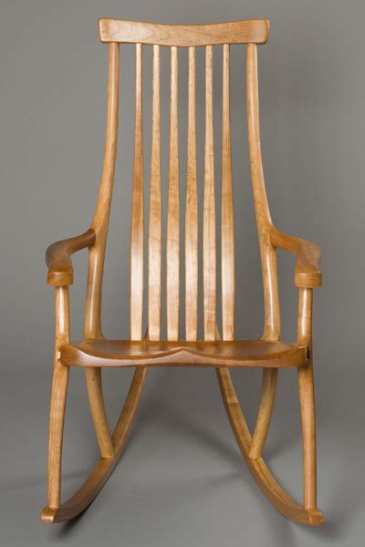 butterfly rocker chair handcrafted contemporary rocking chair by morrison