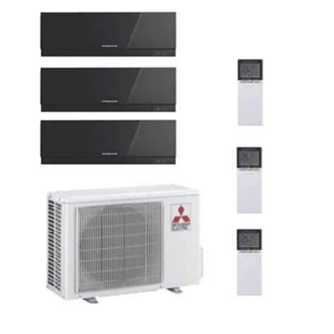 mitsubishi room air conditioners mitsubishi electric air conditioning mxz 4d83va 2 x 3 5 kw 1 x 5 0 kw multi room wall air