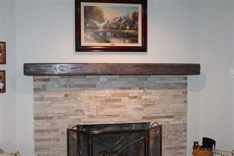 Mantel Fireplace Wood by Reclaimed Wood Mantels For A Rustic Or Antique Fireplace