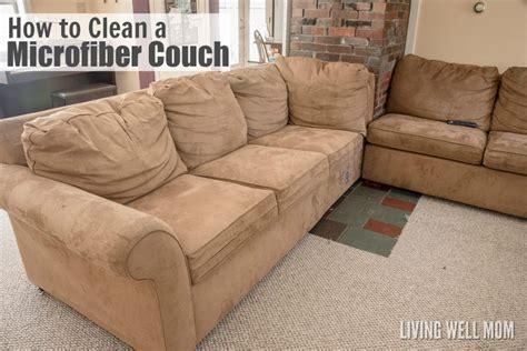 how to remove couch stains micro fiber sofas how to clean a microfiber couch top