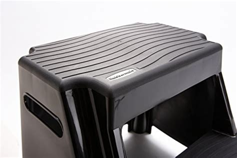 Rubbermaid 2 Step Molded Plastic Step Stool by Rubbermaid Rm P2 2 Step Molded Plastic Stool With Non Slip