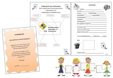 Brief Anfrage Beantworten Unterrichtsmaterial 220 Bungsbl 228 Tter F 252 R Die Grundschule Briefe An Die Nachbarschule