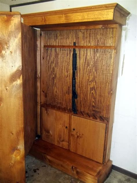 hidden gun cabinet bookcase hidden gun cabinet furniture woodworking projects plans