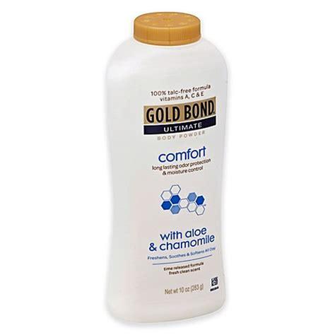 gold bond ultimate comfort body powder aloe gold bond 174 10 oz ultimate comfort body powder in aloe