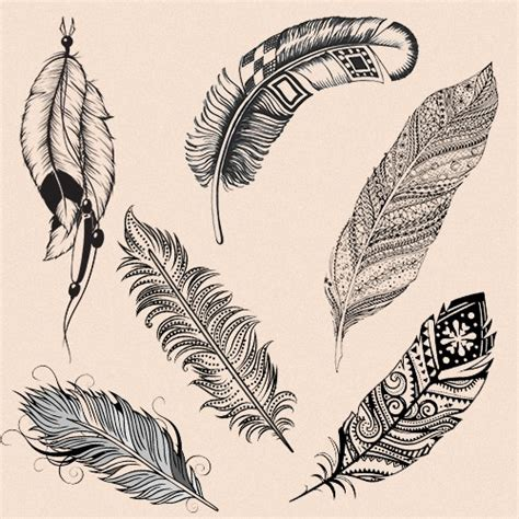 Indian feather tattoo meaning and design ideas