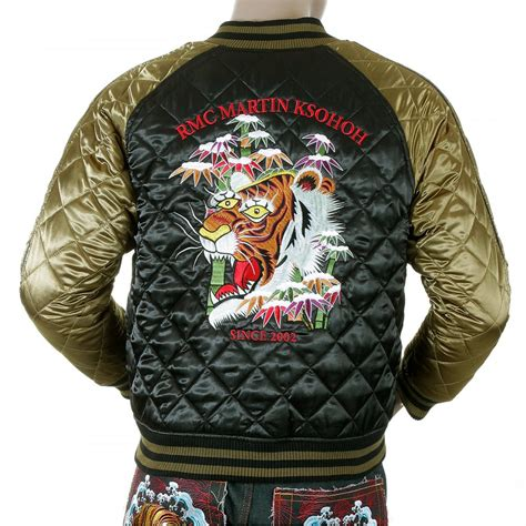 design an embroidered jacket unique reversible quilted jacket by yoropiko clothing