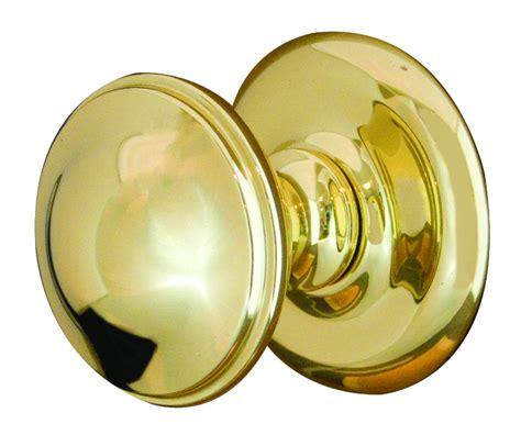polished brass centre door knob on jv59pb