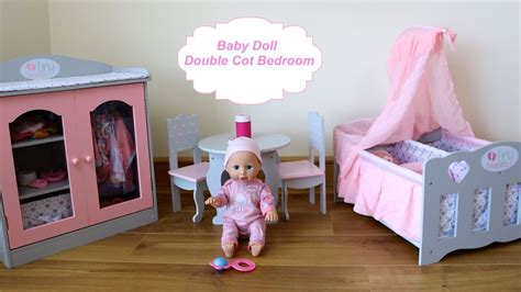 doll bedroom stream baby dolls bedroom double cot wardrobe closet