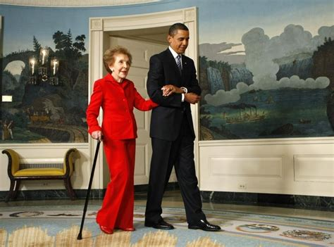 reagan alzheimer s white house washington obama nancy reagan redefined the role of