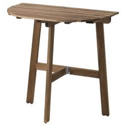 Small Folding Table Ikea Askholmen Table For Wall Outdoor Folding Grey Brown Stained 70x44 Cm Ikea