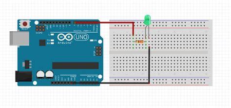 arduino tutorial blinking led arduino blinking led schematic flashing led file