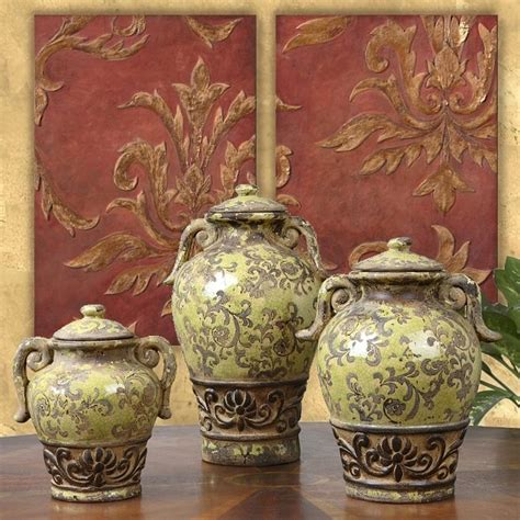 tuscan vases home decor 3 french tuscan italian style old world rustic