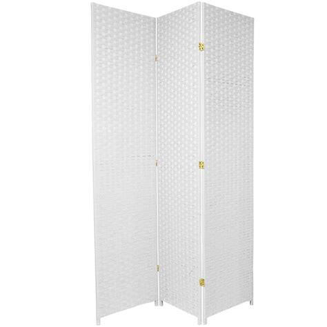 7 Ft Tall Woven Fiber Room Divider Ebay 7ft Room Divider