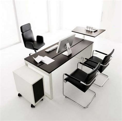 Black And White Desk Chair Design Ideas Office Desk Furniture And How To Choose It My Office Ideas