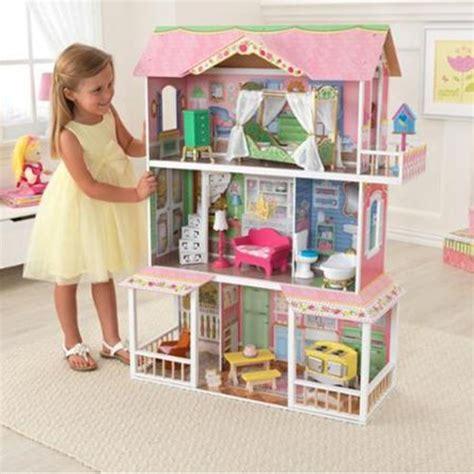 big doll house furniture dollhouse kidkraft girls big doll house furniture large wooden kids childern toy