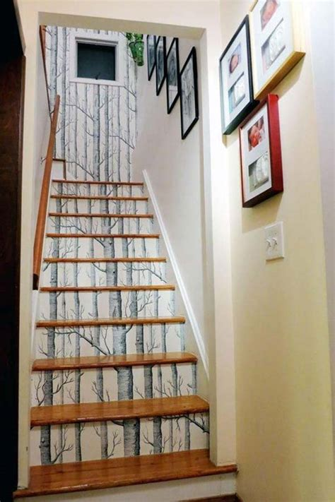 design wallpaper untuk tangga foto wallpaper dahan dan ranting pohon akan membuat