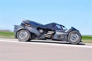 Lamborghini Batmobile Arkham Batmobile With Lambo V10 Races At 2016