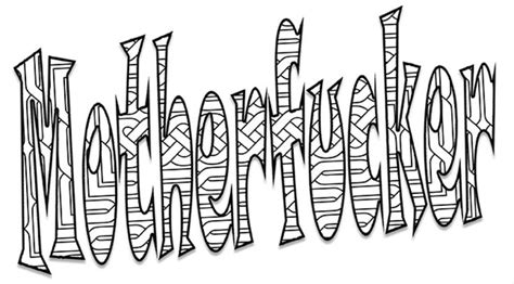 printable coloring pages swear words 420 best swear color pages images on pinterest