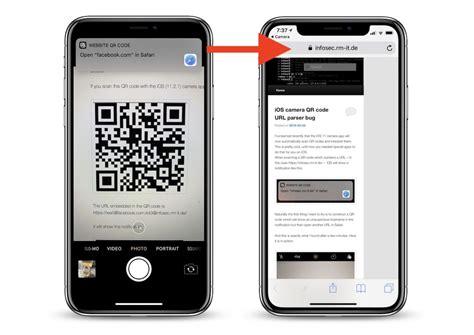 ios  qr code vulnerability  camera app  lead users  malicious websites macrumors
