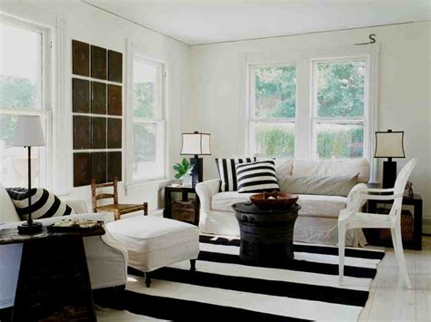 black white living room design delightful black and white striped rug target decorating