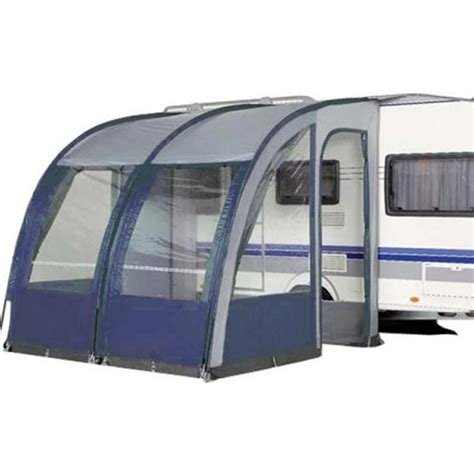 New Caravan Awnings by Prestina 260 Caravan Porch Awning Blue Barnd New Ebay