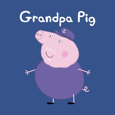 Create Wall Stickers grandpa pig grandpa pig t shirt teepublic