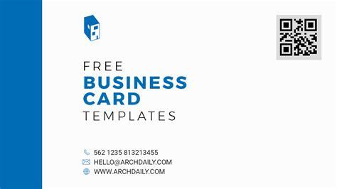 Tamaño De Business Card