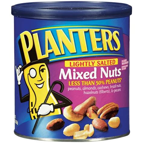 planters lightly salted mixed nuts 15 oz walmart