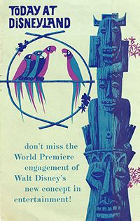 Disney Tiki Room Shop Ceramic Wind Chime - a feathered family creating the birds of walt disney s