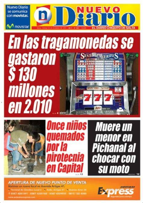 nuevo diario de salta portada del peri 243 dico nuevo diario de salta argentina