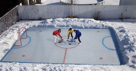 backyard hockey rink kits backyard hockey rink kits outdoor furniture design and ideas