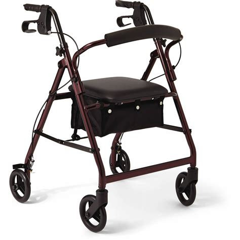 walkers for seniors with seat near me drive four wheel walker rollator with fold up