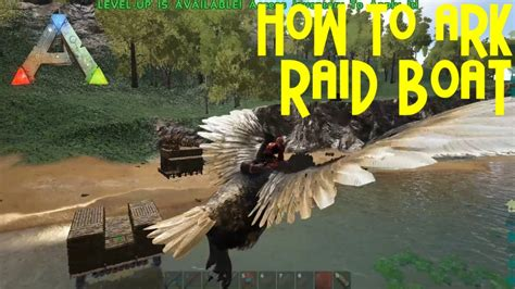 how to make a boat base in ark ark boat design base raid boats how to ark youtube