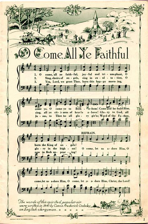 Printable Christmas Hymns | free christmas printable love this christmas pinterest