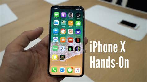 iphone x im on erster eindruck zum zukunfts iphone