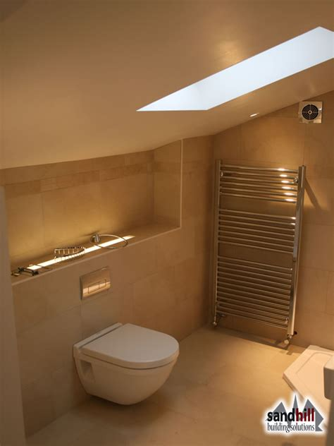 bathroom in loft conversion loft conversion bedroom with ensuite putney london sw15