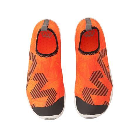 anti slip shoes anti slip shoes aqua marina ripples blue insportline