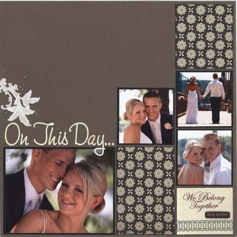 scrapbook layout wedding scrapbook wedding pages bing images scrapbook pinterest