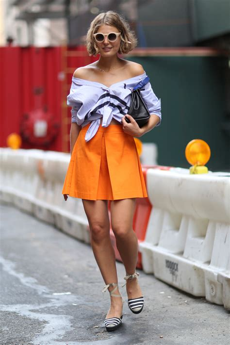 Fashion News Weekly Websnob Up by Turn A Button Shirt Into An The Shoulder Top