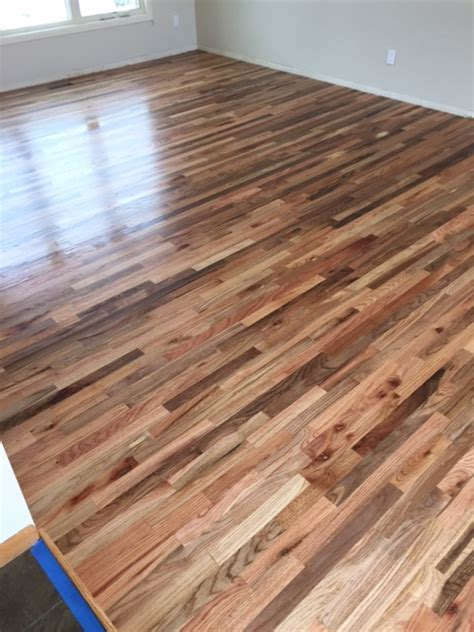 Hardwood Install ? Red Oak Oil Sealer   Jade Floors