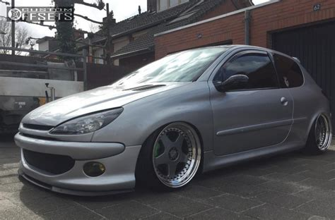 nearly peugeot wheel offset 2001 peugeot 206 nearly flush bagged