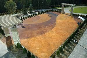 How To Acid Stain Concrete Patio by Gallery For Gt Exterior Concrete Acid Stain