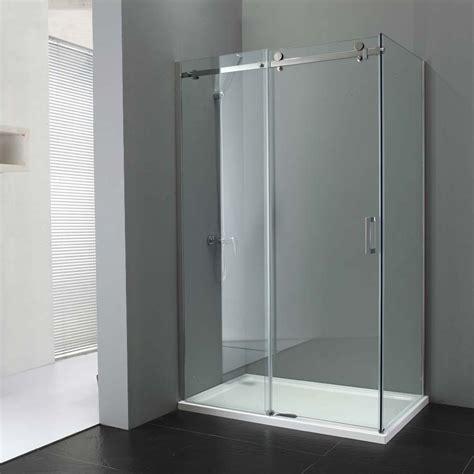 porte coulissante en verre lapeyre simple paroi epona avec porte coulissante et paroi fixe