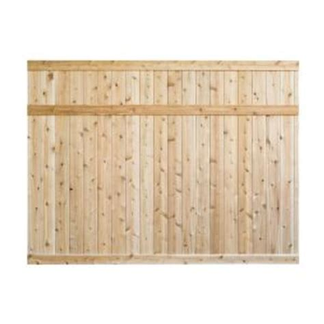 Privacy Fence Panels Home Depot by 6 Ft H X 8 Ft W Eastern White Cedar