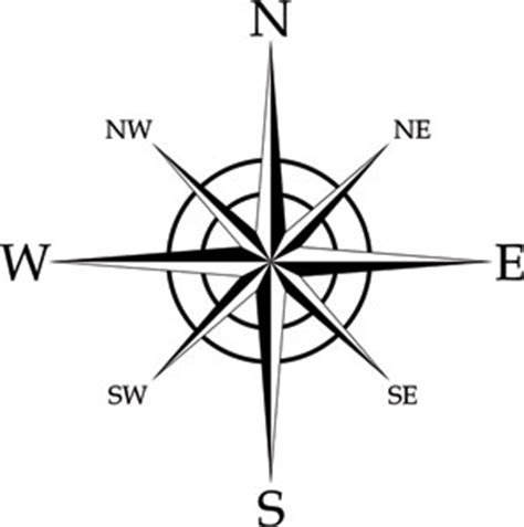 compass rose coloring page image search results clipart
